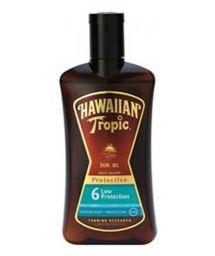 HAWAIIAN TROPIC BRONZING OIL - 200ml FPS 6